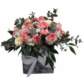 Roses In A Caparison Box  - 1