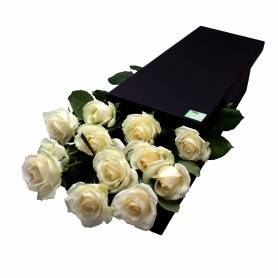 White Roses In A Box  - 1