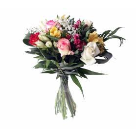 Bouquet With 7 Alstromeries...