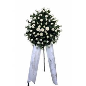Funeral Hoop With Roses