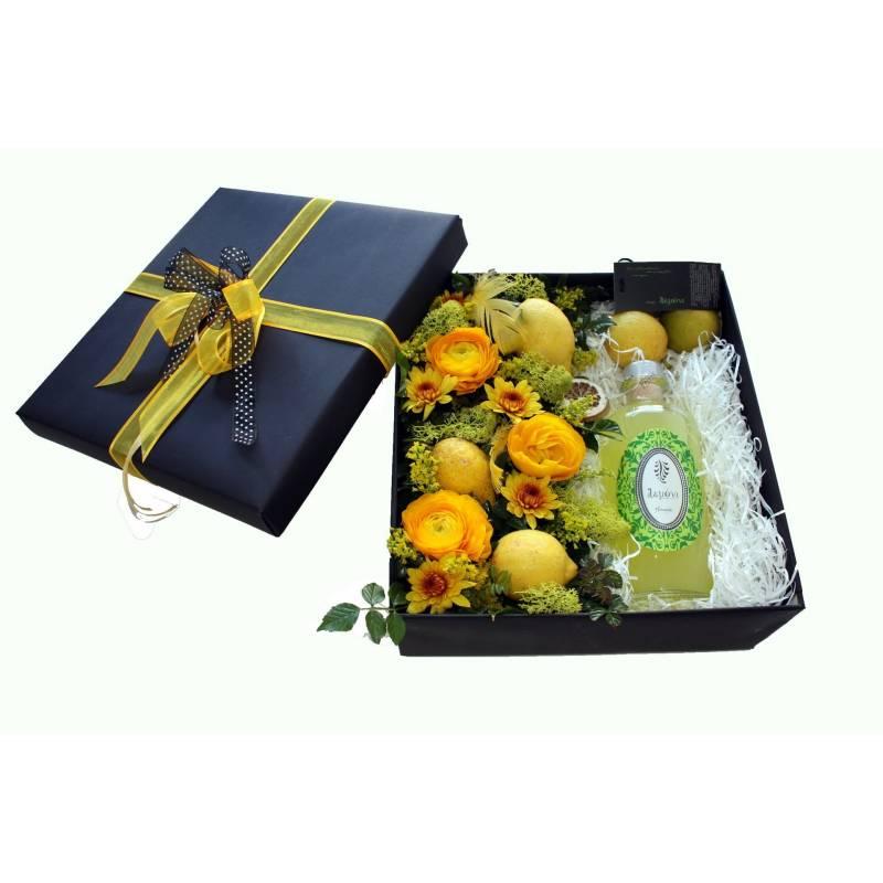 ξύλινο κουτί δώρο με vidiano & bold trempranillo