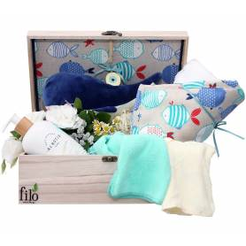 Newborn Gift Box - Whale