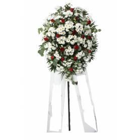 Funeral Hoop With Various...