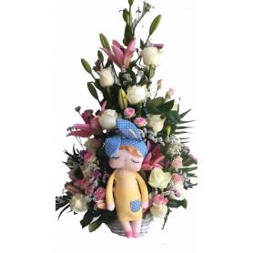 Flower Arrangement for...