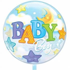 Balloon Baby Boy Stars - Moon  - 1
