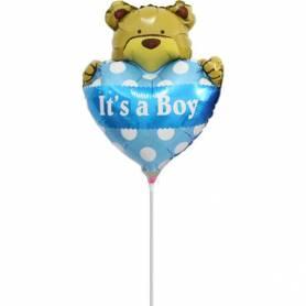 Foil Teddy Bear Balloon It's a Boy  - 1