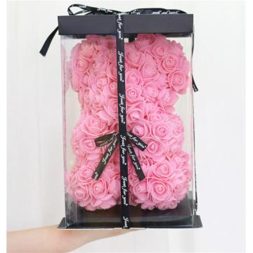 Αρκουδάκι Forever Roses σε Kουτί Ροζ  - 1