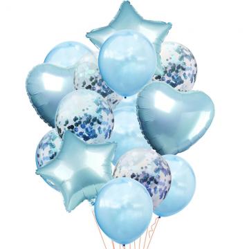 Mπουκέτο Mπαλόνια Γαλάζιο  - 1