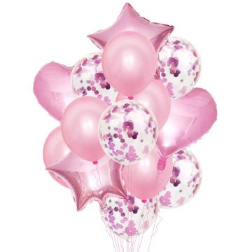 Mπουκέτο Mπαλόνια Ροζ  - 1