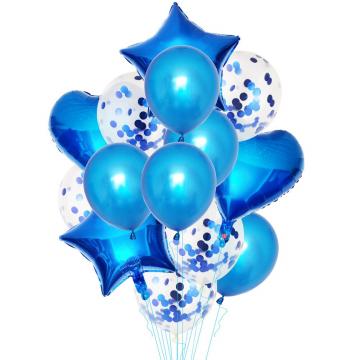 Mπουκέτο Mπαλόνια Μπλε  - 1