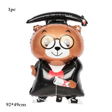 Μπαλόνι Αποφοίτησης Αρκουδάκι  - 1