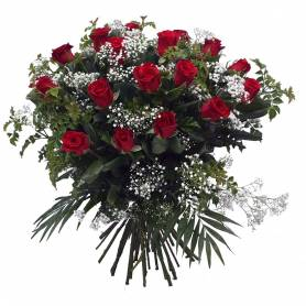 Bouquet With 24 Red Roses  - 1