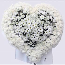 Funeral Heart Shaped Wreath